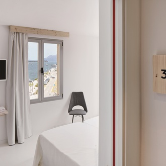 Habitación Hotel Eolo